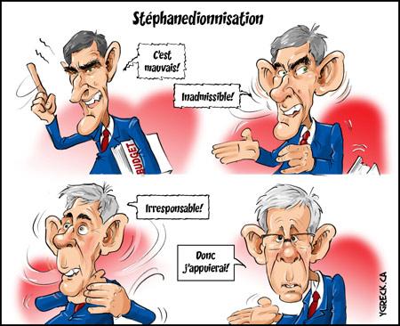 Stephanedionnisation