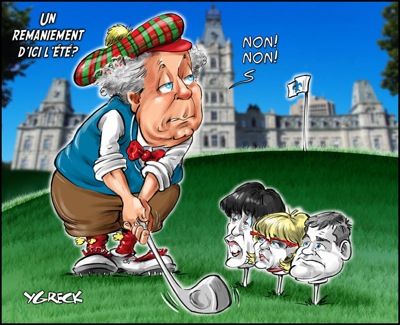 Charest-golf