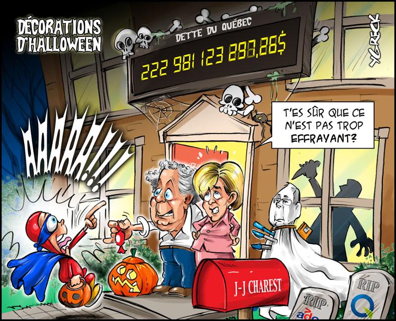 Halloween-dette
