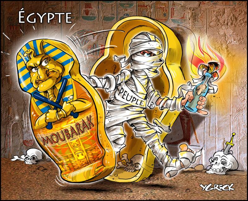 Moubarak-egypte