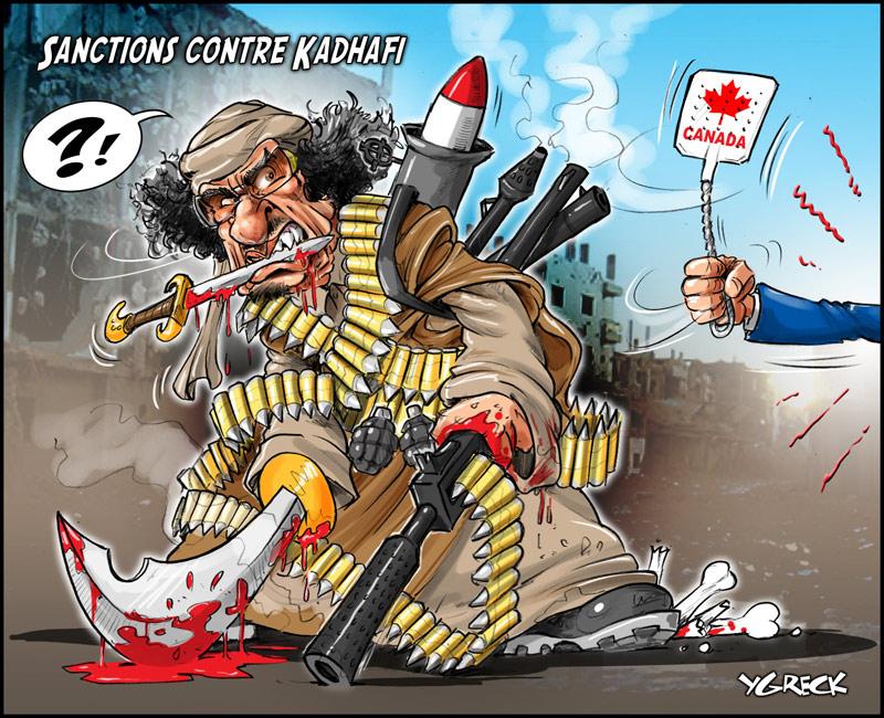 Kadhafi-tapette