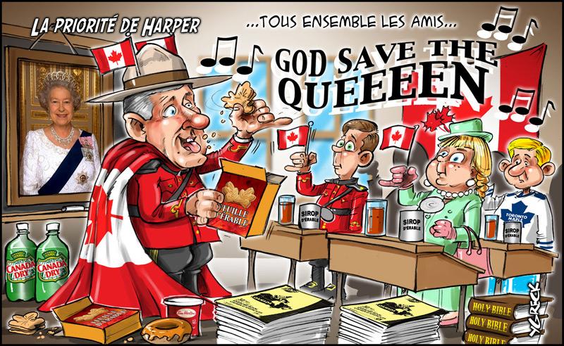 Harper-drapeau