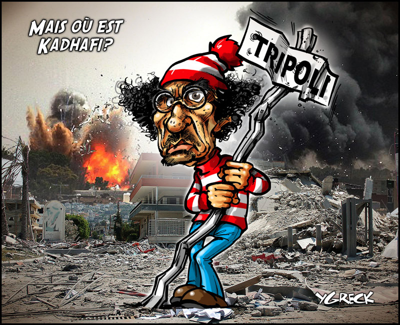 Ou-est-Kaddhafi