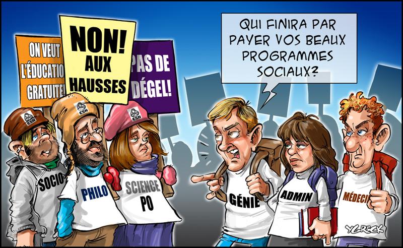Etudiants-greve