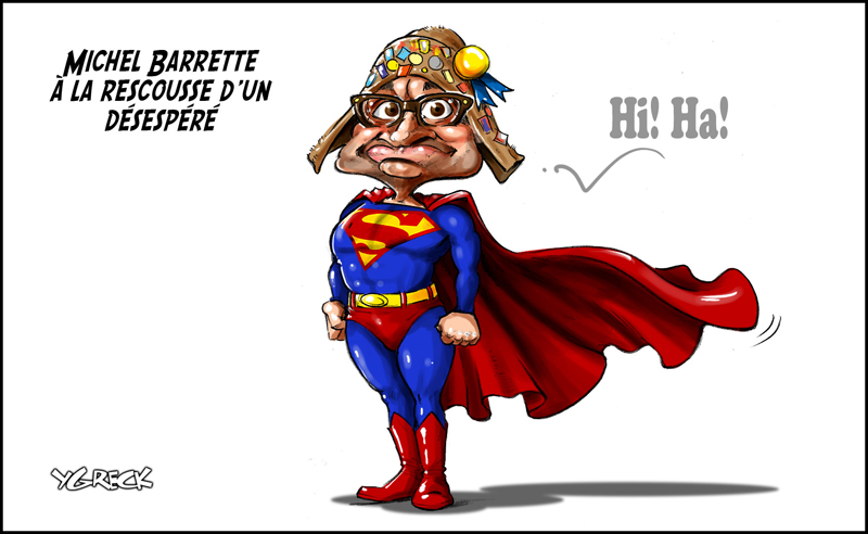 Barrette-Superman