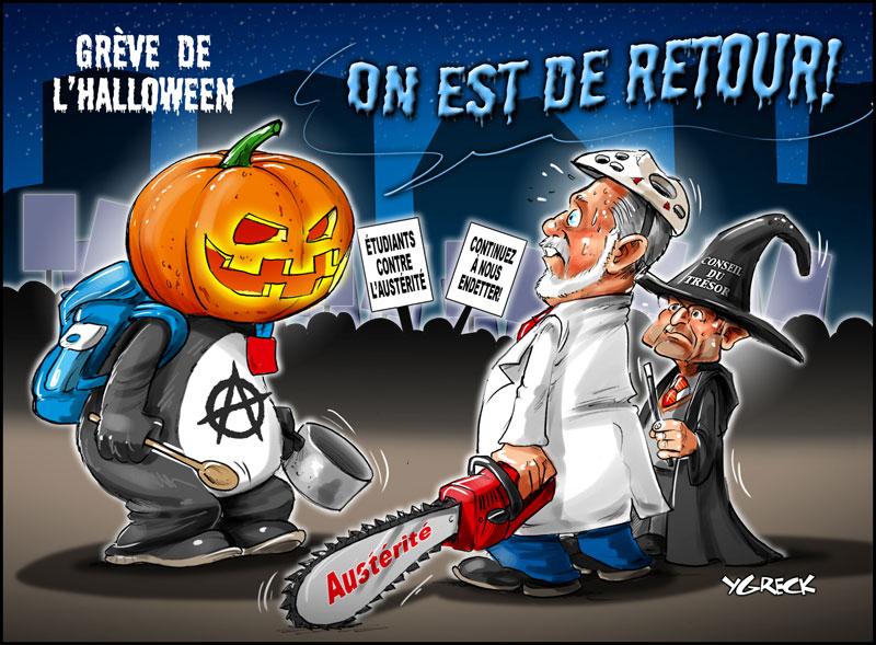 Manif-halloween