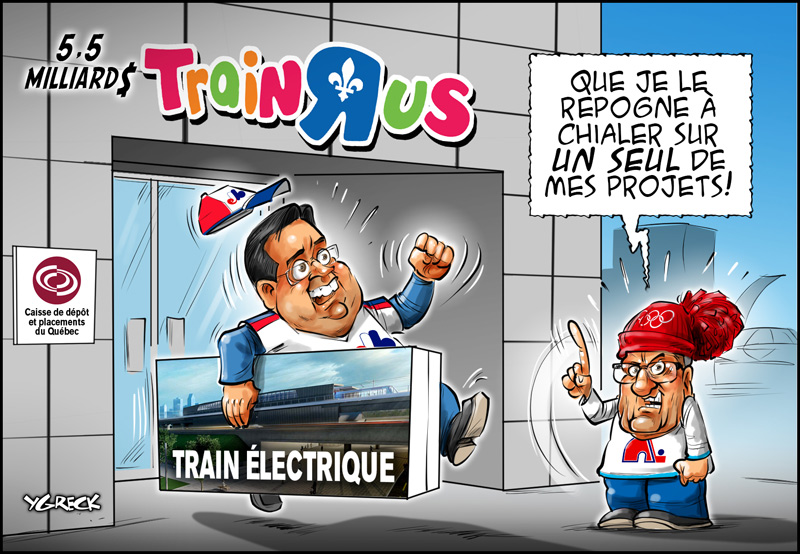 Coderre-train