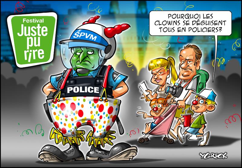 Clown-police