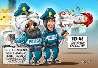 Police-turban