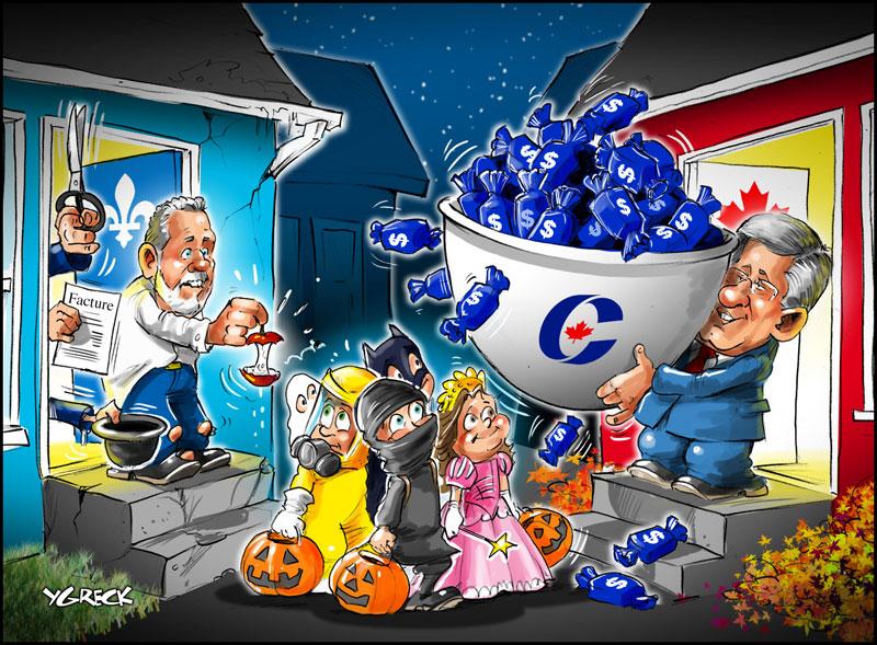 Halloween-bonbons