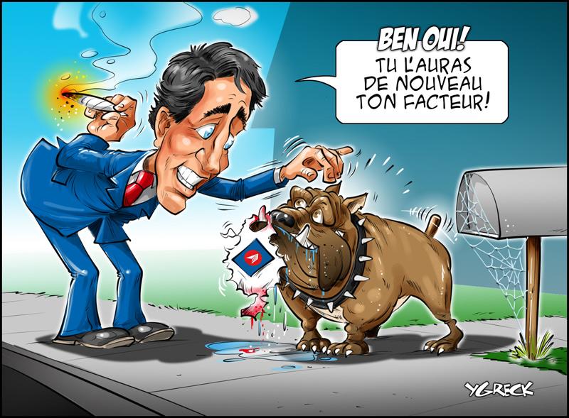 Trudeau-chien