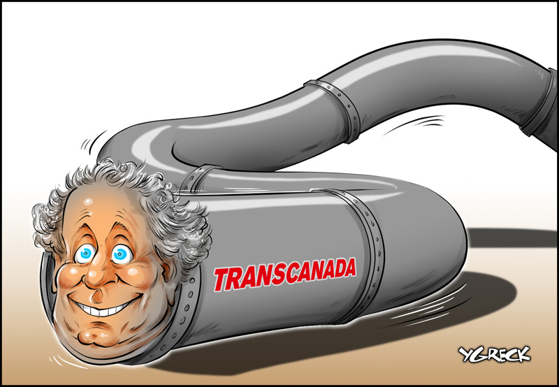 Charest-pipeline