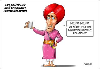 Trudeau-kirpan