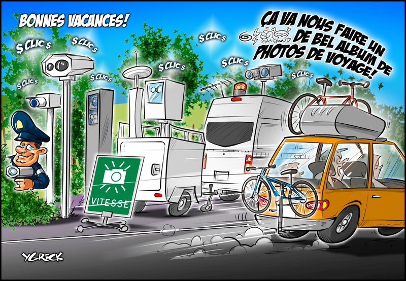 Vacances-radars