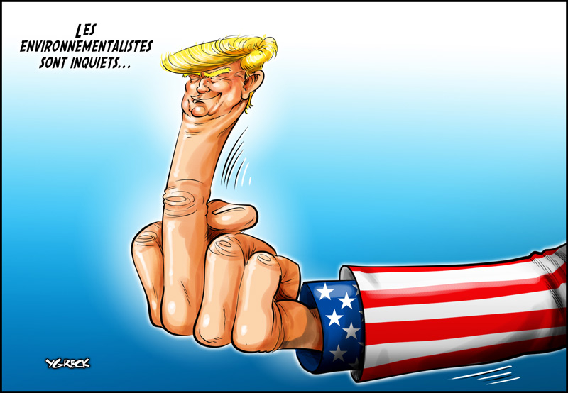 Trump-finger