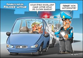 Policier-acteur