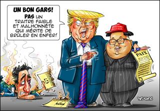 Trump-Kim-Trudeau