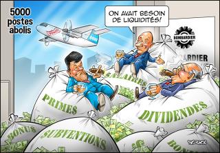 Bombardier-emplois