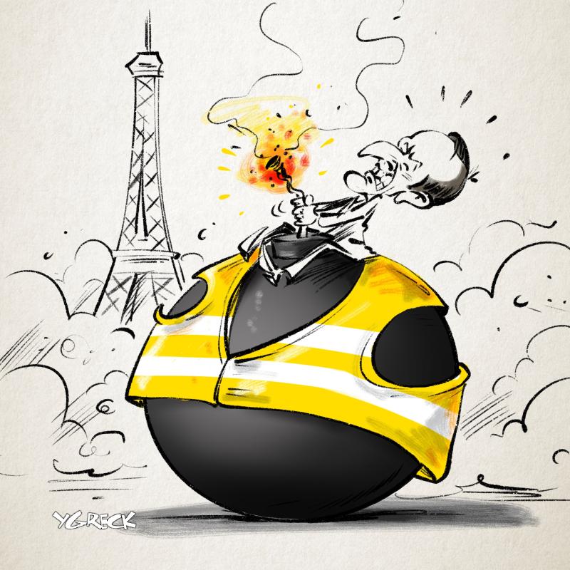Macron-bombe