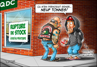 Trudeau-stock