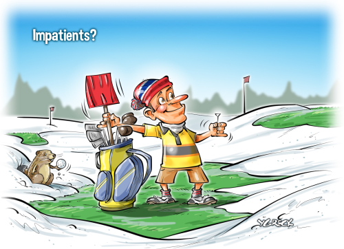 Golf-printemps